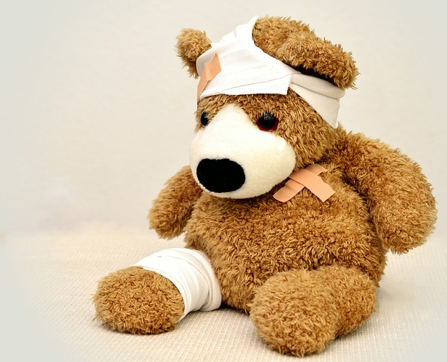 riesen teddy reparieren