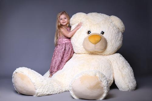 XXL Teddy Riesen Teddy mit Kind